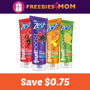 Coupon: $0.75 off one Zest Fruitboost