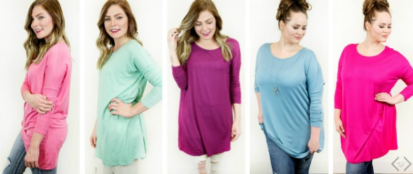 40% off Tunics at Cents of Style