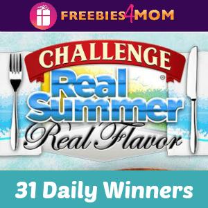 Sweeps Challenge Real Summer, Real Flavor
