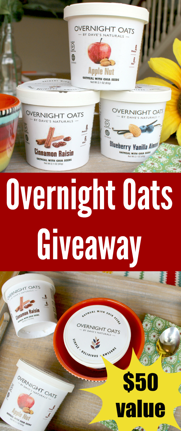 Overnight Oats Giveaway ~ Support Overnight Oats on Kickstarter