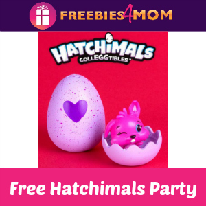 Free Hatchimals Party at Toys R Us May 20