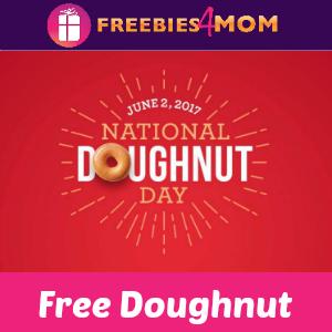 Free Krispy Kreme Doughnut June 2