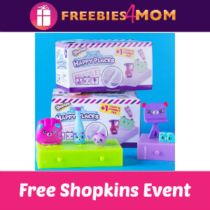 Free Shopkins Swap-kins Party at Toys R Us