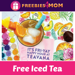 Free Iced Tea at Teavana May 26