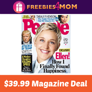 People Magazine $39.99 ($0.80 per issue)