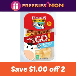 Coupon: $1.00 off two Horizon Good & GO!