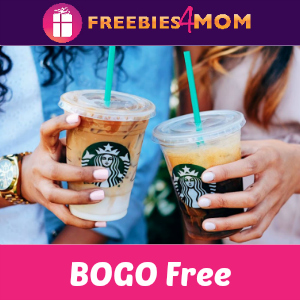 BOGO Free Grande Iced Espresso at Starbucks