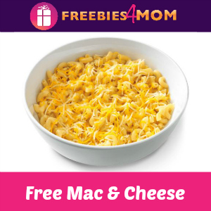 Free Mac & Cheese at Noodles & Co. July 14