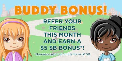Swagbucks:  Score a Buddy Bonus