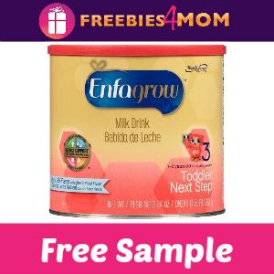 Free Sample Enfagrow Toddler Next Step