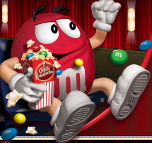 M&Ms Movie Ticket Offer