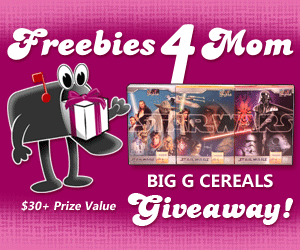 Star Wars Big G Cereals Giveaway