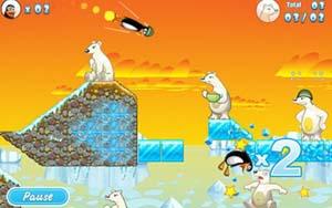 Crazy Penguin Catapult Screenshot