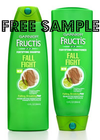 Free Sample Garnier Fall Fight