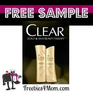 Freebie Clear Shampoo and Conditioner