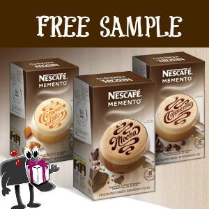 Free Sample Nescafe Memento