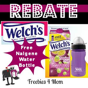 Rebate Free Nalgene Water Bottle From Welch's