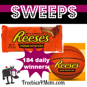 Sweeps Reese's NCAA March Madness (184 Daily Winners)
