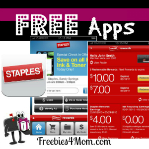 Free iTunes & Android App: Staples