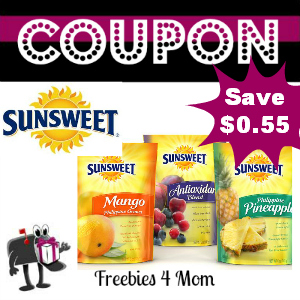 Coupon $0.55 off any Sunsweet Product