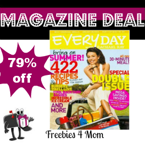 Deal $4.99 for Every Day with Rachael Ray Magazine