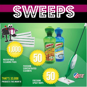 Sweeps Libman April Giveaway (1,100 Daily Winners)