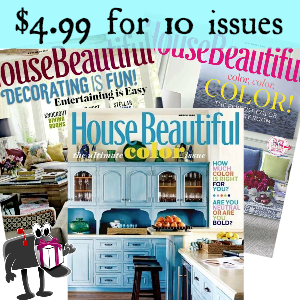 Deal $4.99 for House Beautiful Magazine