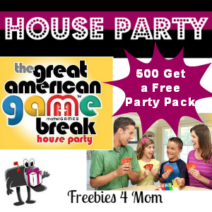 Free House Party: Mattel Great American Game Break