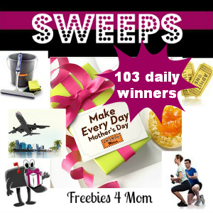 Sweeps Thomas' Make Every Day Mother's Day (103 Daily Winners)