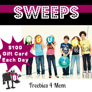 Sweeps Grand RUUM Event ($100 Gift Card Each Day)