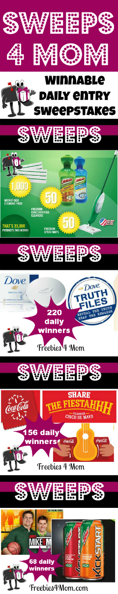 Sweeps 4 Mom: Have Fun Playing