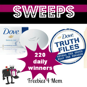 Sweeps Dove Truth Files (220 Daily Winners)