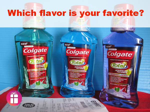 Colgate Total Mouthwash three flavors #TotalSmile