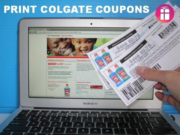 Print Colgate Coupons #TotalSmile