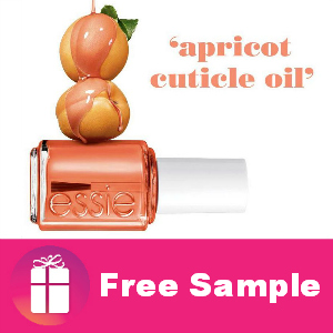 Freebie Essie Apricot Cuticle Oil
