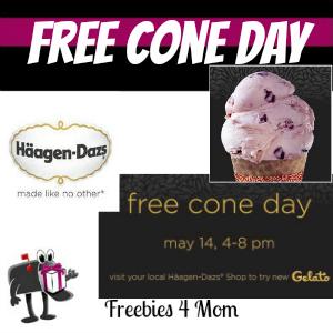 Free Häagen-Dazs Cone Day May 14
