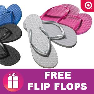 Free Flip Flops at Target