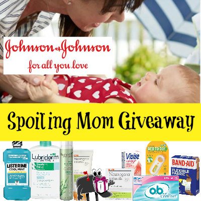 Spoiling Mom with Johnson & Johnson Giveaway