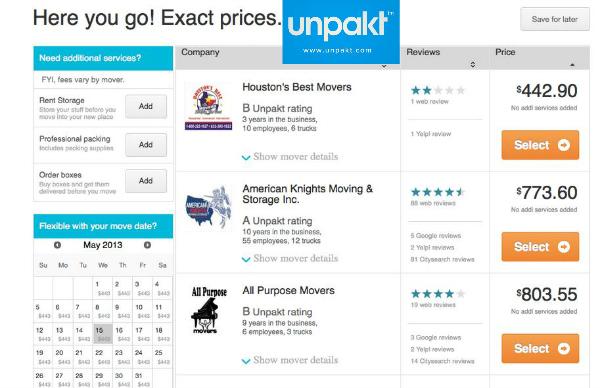 Upakt Prices