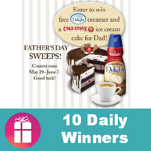 Sweeps International Delight Father's Day Treat