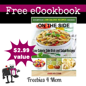 Free eCookbook: On the Side: Low-Calorie Side Dish and Salad Recipes ($2.99 Value)