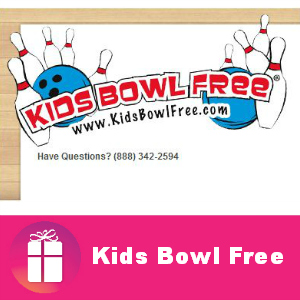 Kids Bowl Free This Summer