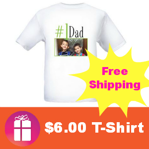$6.00 Personalized T-Shirt