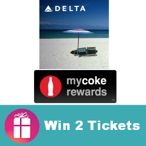 Sweeps Win 2 Roundtrip Tickets with Delta