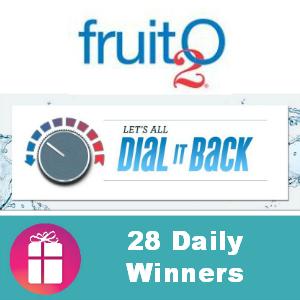Sweeps Fruit2O Dial It Back