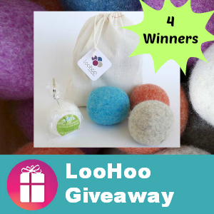 LooHoo Wool Dryer Ball Giveaway