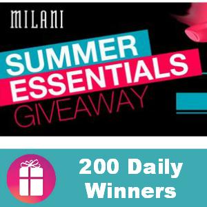 Sweeps Milani Summer Essentials Giveaway