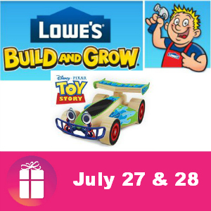 Free Kids Clinic at Lowe's July 27 & 28
