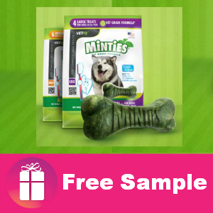 Freebie Minties Dog Treats