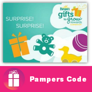 Free Pampers Code 20 points